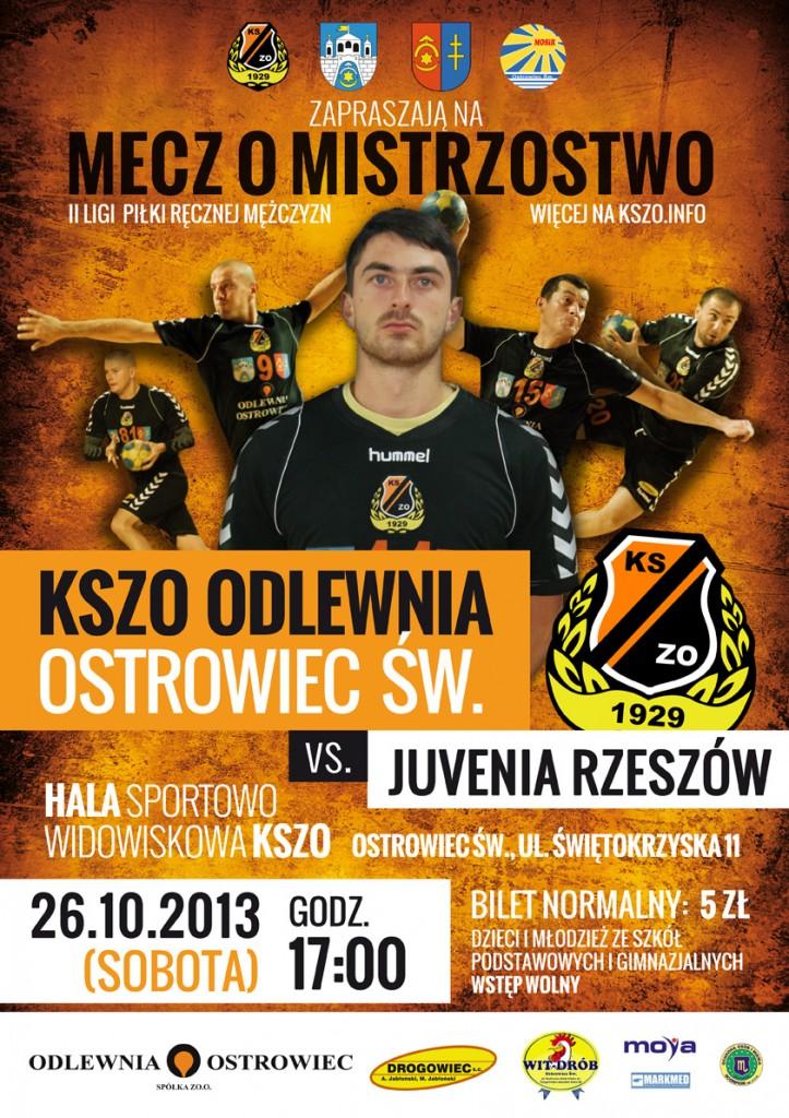 KSZO_Odlewnia_Ostrowiec_-_Juvenia_Rzeszow