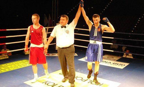 Damian Falecki boksował w Memoriale Drogosza