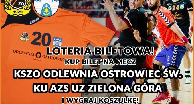 Biletowa loteria na meczu KSZO Odlewnia Ostrowiec – AZS UZ