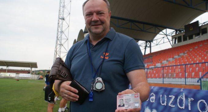 Aleksander Malinowski już z polskim paszportem