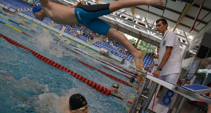 Rekordowe mistrzostwa 13-latków na Pływalni Rawszczyzna