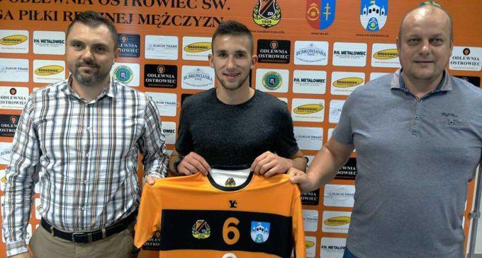 Grzegorz Hubka zagra w KSZO