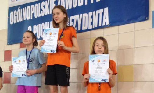 Pływacy KSZO otworzyli rok w Kielcach