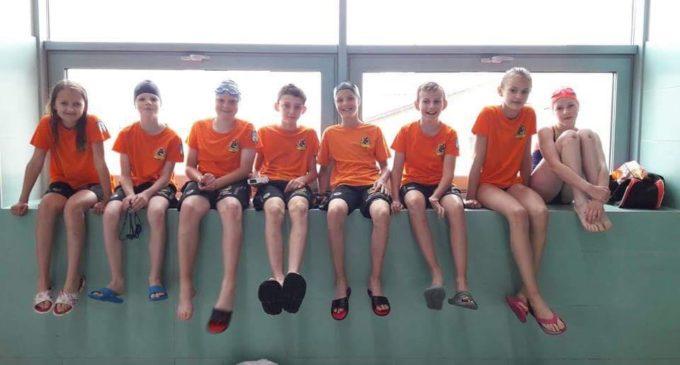 KSZO tuż za podium w 3. rundzie Małej Ligi Pływackiej