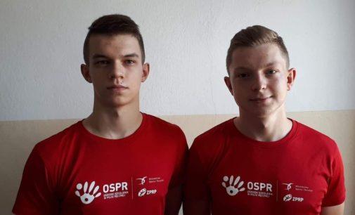 Młodzi Wojownicy na campie w Gdańsku