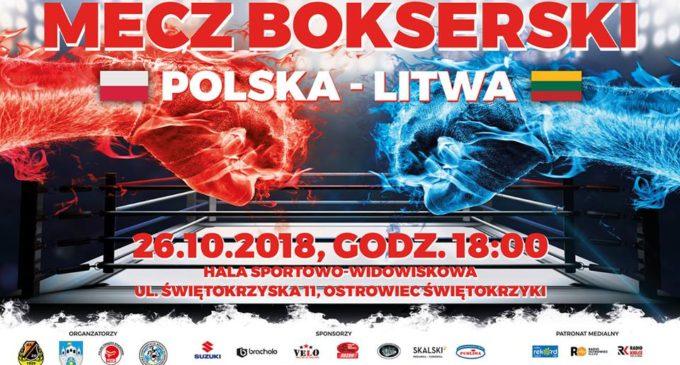 Przed meczem bokserskim Polska – Litwa. Andrzej Kołton w biało-czerwonych barwach!