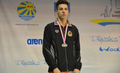Patryk Stefański podwójnym medalistą Mistrzostw Polski 15-latków w Ostrowcu Św.