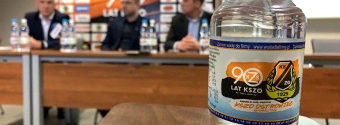 Pijmy wodę Staropolska z logo KSZO!