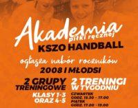 Ruszyła Akademia KSZO Handball