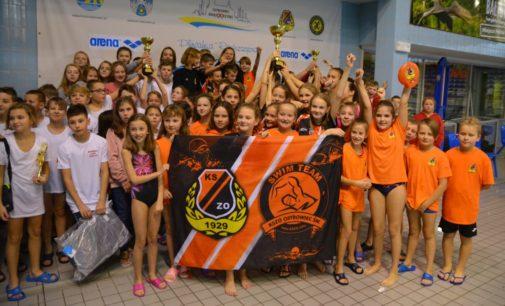Puchar za Małą Świętokrzyską Ligę Pływacką dla KSZO!
