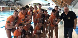 Waterpoliści KSZO z pierwszym zwycięstwem w Ekstraklasie
