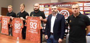 Prezes Karol Szewczyk przedstawił trenera i nowych zawodników