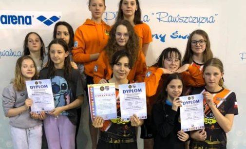 Duża Flota KSZO znów na czele Świętokrzyskiej Ligi Pływackiej