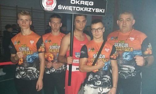Dawid Brzeziński na podium Mistrzostw Polski Juniorów